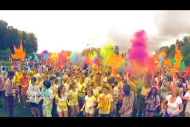 SASK-feest 2016: de colour run!